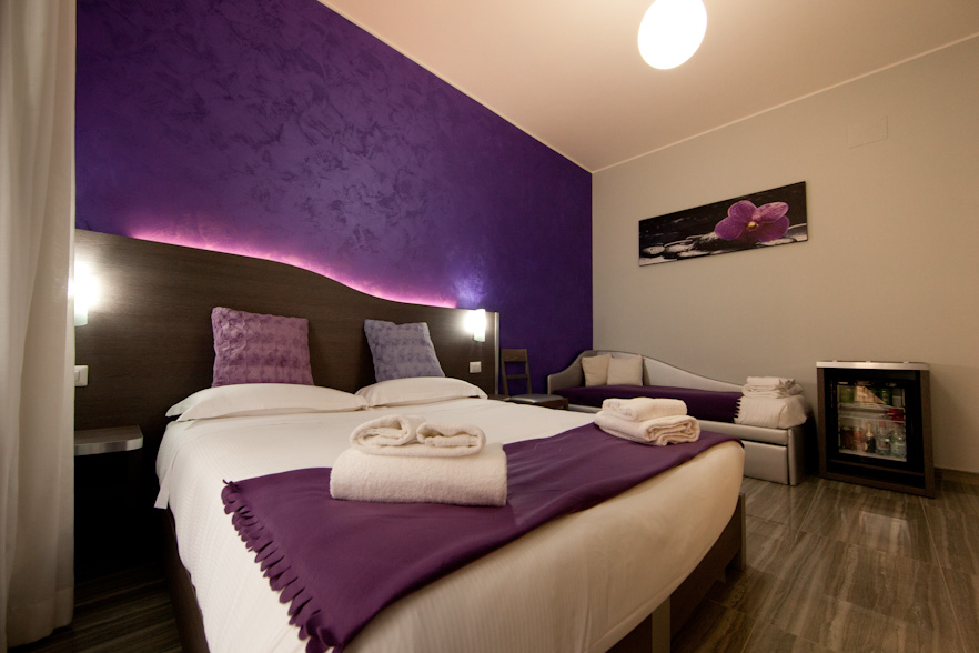 Pantheon Room - Double bed or twin beds